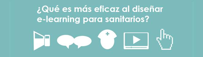 Recomendaciones en e-learning para sanitarios