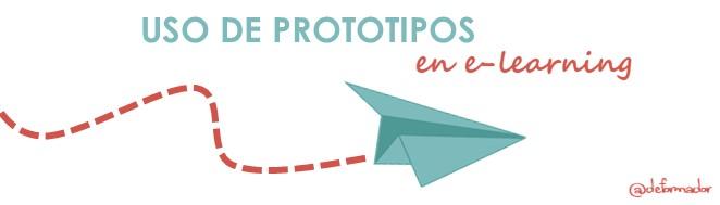 Uso de prototipos en e-learning